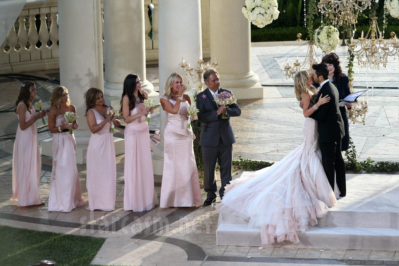 Eddie Judge and Tamra Barney wedding photos