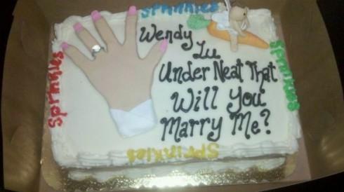 Underneath That Cake