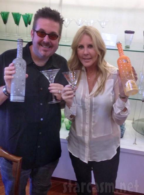 Vicki Gunvalson and Robert Williamson III together with Vicki's Vodka