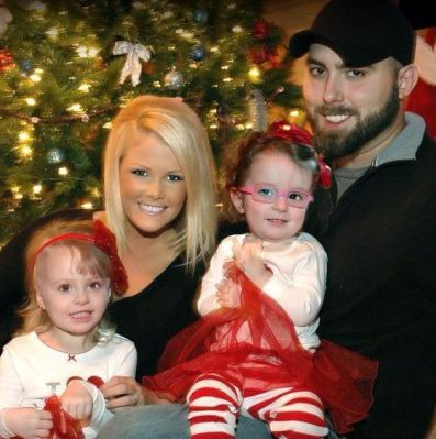 Teen Mom 2 star Corey Simms with Miranda Patterson and his twins