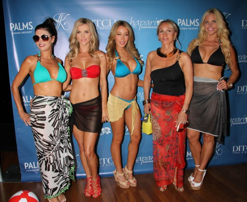 Joanna Krupa hosts the signature bikini line launch at 'Ditch Saturdays' at Palms Pool inside the Palms Casino Resort in Las Vegas, Nevada, United States.