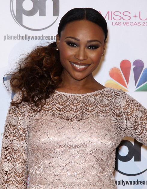 Cynthia Bailey at the 2013 Miss USA Pageant held at Planet Hollywood Resort and Casino in Las Vegas, Nevada, United States.