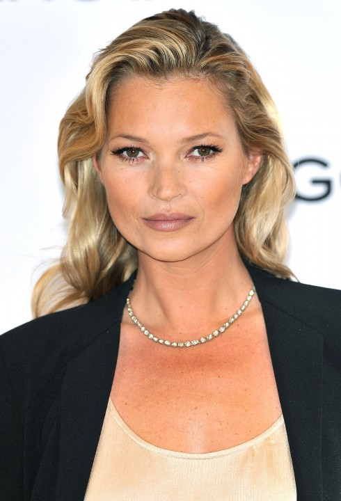 Kate Moss at the Kate Moss for Mango photocall held at Mango Oxford Street in London, England.