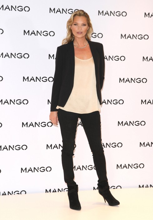 Kate Moss for Mango photocall in London, England.