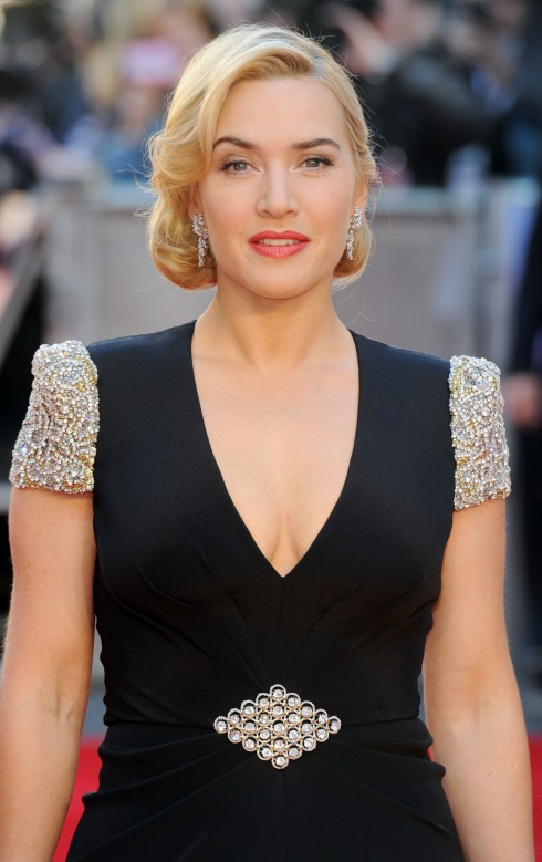 Kate Winslet at the premiere of Titanic 3D at Royal Albert Hall in London, England.