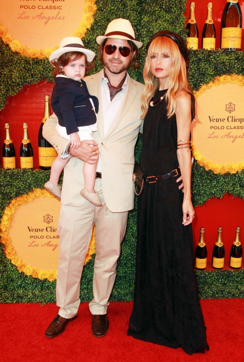 Rachel Zoe, Rodger Berman at the Third Annual Veuve Clicquot Polo Classic - arrivals at  Will Rogers State Historic Park in Pacific Palisades, California.