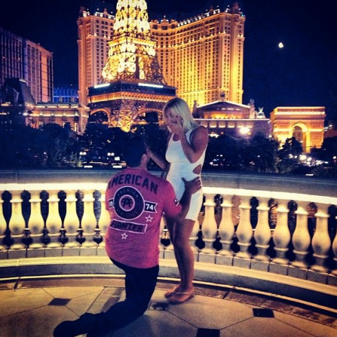 Brooke Hogan and Phil Costa get engaged in Las Vegas