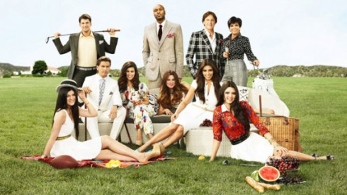 Keeping Up With The Kardashians cast photo