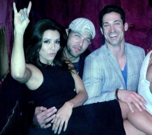 Eva Longoria and Ernesto Arguello celebrate her birthday
