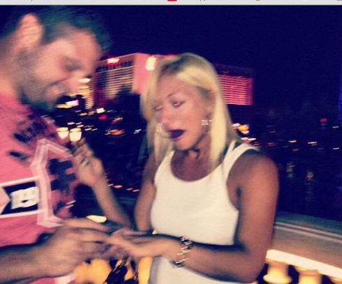 Phil Costa and Brooke Hogan get engaged