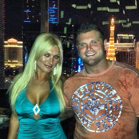 Brooke Hogan and Phil Costa engaged in Las Vegas
