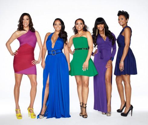 Basketball Wives LA Season 5 cast photo Suzie Ketcham, Evelyn Lozada, Shaunie O'Neal, Tami Roman and Tasha Marbury