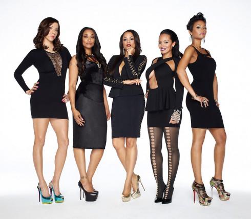 Basketball Wives Season 5 cast Suzie Ketcham, Tami Roman, Shaunie O'Neal, Evelyn Lozada and Tasha Marbury