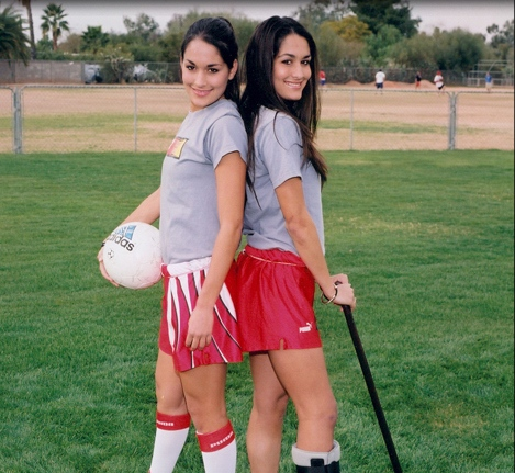 Bella Twins as kids