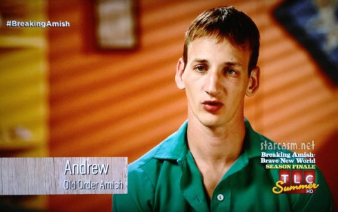 Breaking Amish Abe's brother Andy Andrew Schmucker