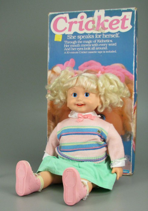 Busy Phillips Cricket Baby Doll