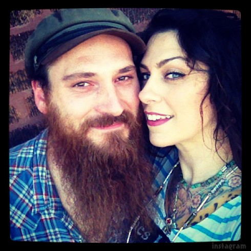 Danielle Colby with talented, Husband Alexander De Meyer