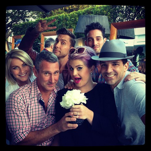 Gayby Shower with Kelly Osbourne, Julianne Hough and Lance Bass