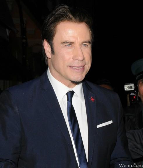 John Travolta L. Ron Hubbard