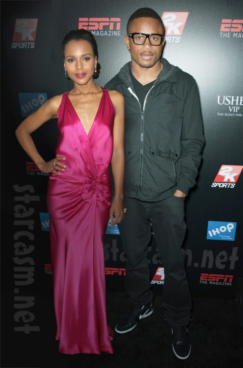Nnamdi Asomugha and Kerry Washington together until death does them part after getting secretly married