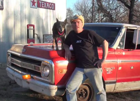 Louise from Street Outlaws on Farmtruck