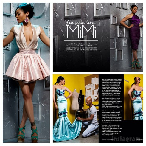Love and Hip Hop Atlanta Mimi Faust HOC magazine
