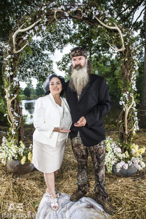 Miss Kay Phil Robertson vow renewal ceremony