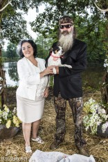 Phil Robertson and Miss Kay's dog