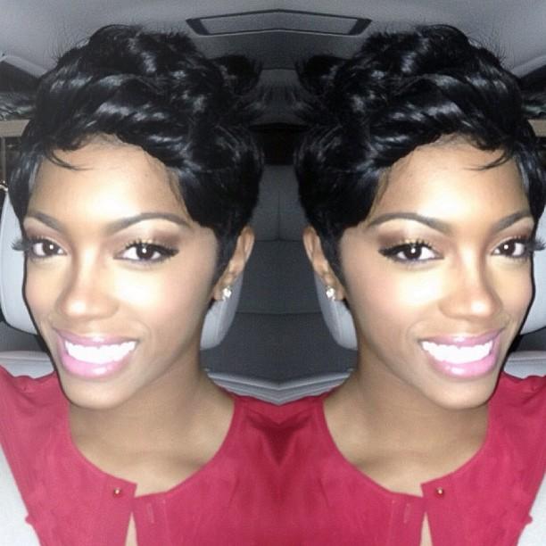 Photos Porsha Stewart Shows Off New Shorter Hair Do Starcasm Net