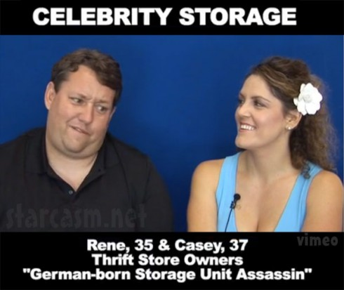 Storage Wars Rene and Casey Nezhoda Celebrity Storage audition video for ABC
