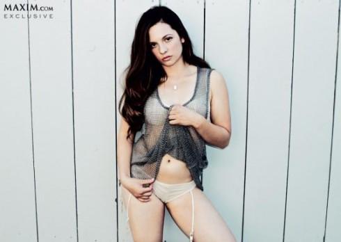 Mackenzie Rosman Ruthie Camden Maxim August 2013