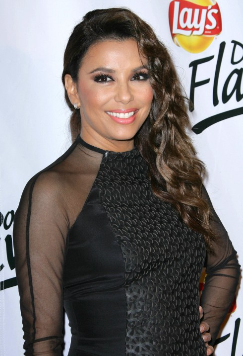 Eva Longoria and Lay's announce the winning flavor in the Lay's 'Do Us A Flavor' contest held at Longoria's Beso restaurant in Hollywood, California, United States.