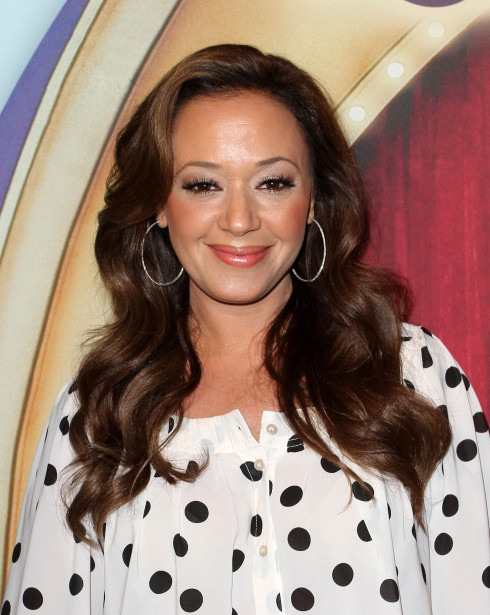 Leah Remini at the Los Angeles premiere of 'Fully Charged' presented by Ringling Bros. and Barnum & Bailey held at the Staples Center in Los Angeles, California.
