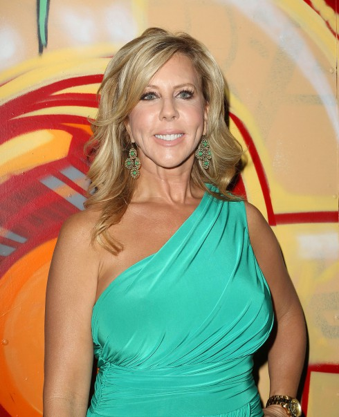 Vicki Gunvalson at the Wine By Wives Launch held at The Lexington in Hollywood, California.