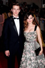 Hayden Christensen and Rachel Bilson at The Costume Institute Gala Benefit to celebrate the opening of the 'American Woman: Fashioning a National Identity' exhibition held at The Metropolitan Museum of Art in New York City, New York, United States.