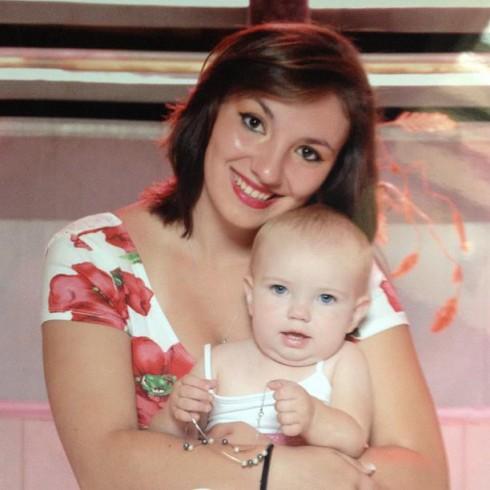 Teen Mom 3 Alex Sekella and daughter Arabella