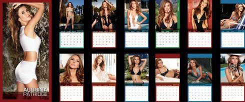 Audrina Patridge 2013 swimsuit calendar