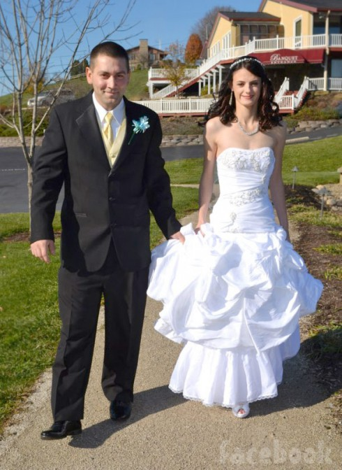 Breaking_Amish_LA Betsy husband Allen Yoder wedding photo