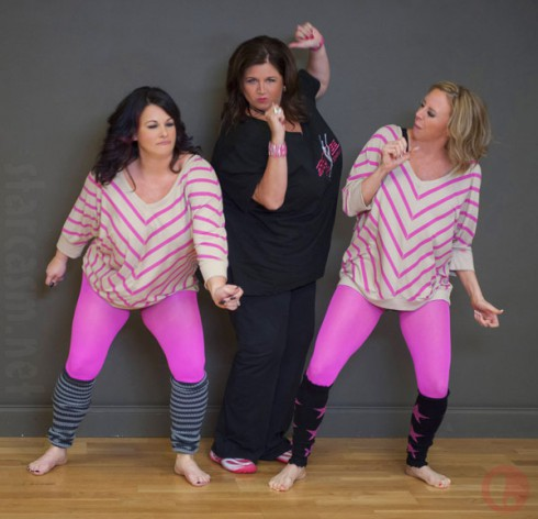 Dance Moms Abby Lee Miller with Double Divas Cynthia Decker and Molly Hopkins