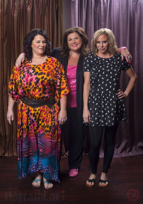 Double Divas Cynthia Decker and Molly Hopkins with Dance Moms Abby Lee Miller