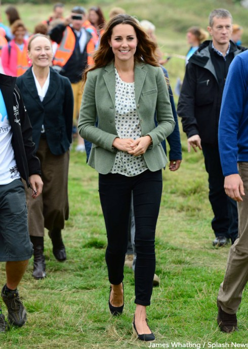 Duchess of Cambridge post-baby appearance