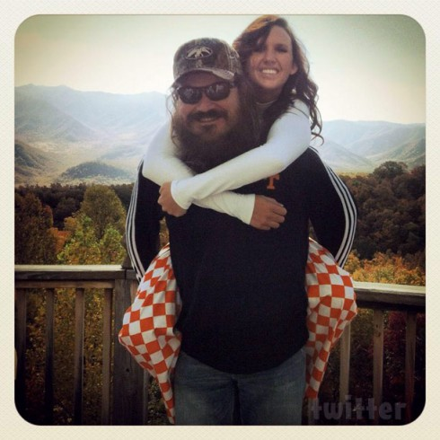 Duck Dynasty Martin and girlfriend Brittany Brugman