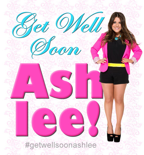 Get Well Soon Ashlee White from Princesses Long Island