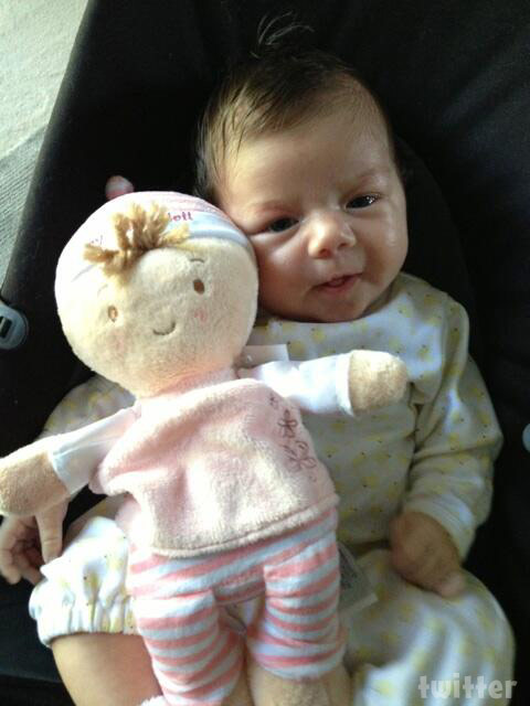 Flipping Out Jenni Pulos baby Alianna photo