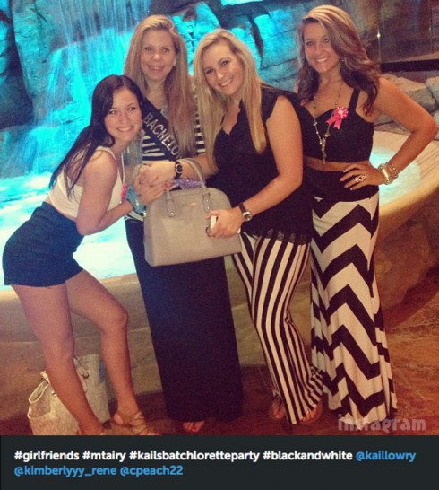 Teen Mom 2 Kail Lowry bachelorette party with girlfriends