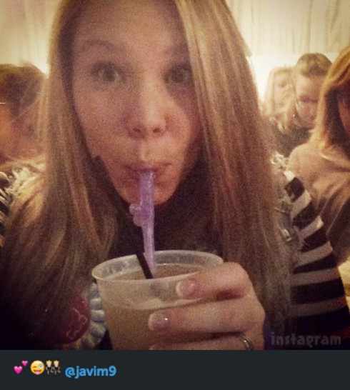 Kailyn Lowry bachelorette party penisstraw