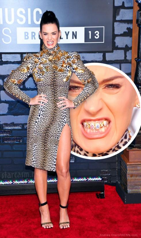 Katy Perry Roar grill 2013 VMAs