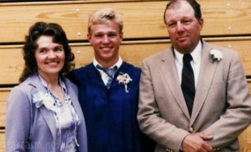 Sister Wives' Kody Brown with dad Winn Brown mom Genielle Brown hs