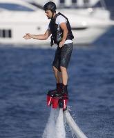 Leonardo DiCaprio Flyboarding
