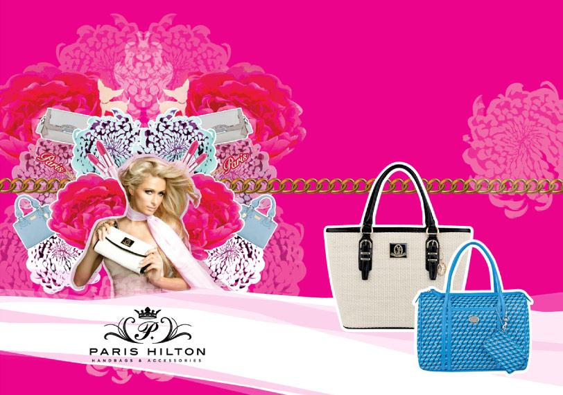 Paris Hilton Handbags and Accessories website link